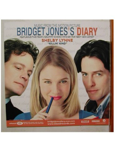 Renee+Zellweger+Hugh+Grant+poster+Bridget+Jones%27s+Diary