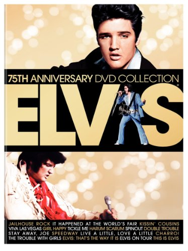 Elvis 75th Anniversary DVD Collection (17 Films including Elvis on Tour / Jailhouse Rock / Viva Las Vegas / It Happened at the World's Fair and This Is Elvis)
