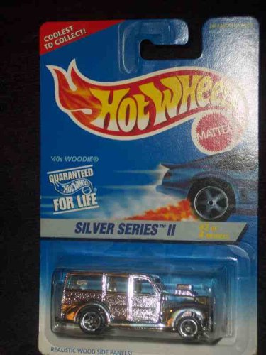 Silver Series 2 #2 1940s Woodie 5-Spokes HW Logo On Side #421 Mint