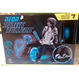Yvolution Neon Street Rollers Skates Pink (max 132 Lb) LEDs built into wheels