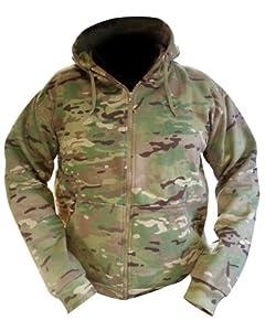 Top à capuche pour homme Zip intégral UTP à capuche de style militaire Camouflage UTP Veste Sweat-Shirt à capuche-Neuf