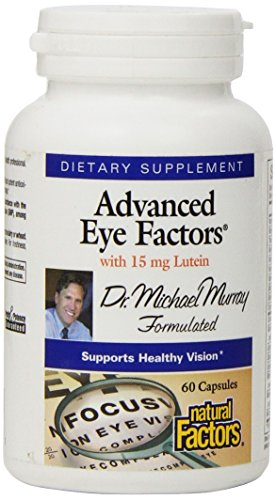 Natural Factors - Dr. Murray's Advanced Eye Factors with 15