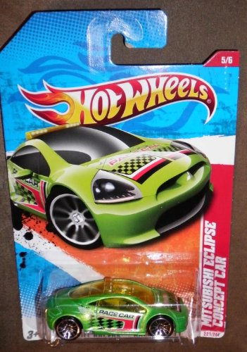 2011 Mitsubishi Eclipse Concept Car Hot Wheels Collectible - Thrill Racers Raceway Series - 221/244