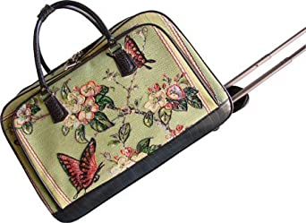 Mellow World Women's HB1040 Luggage Accessory,Butterfly Touch Green