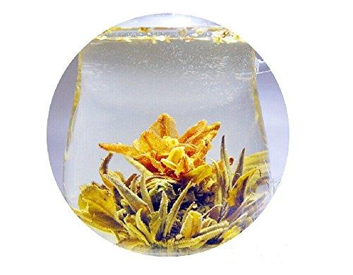Be Oneself Fresh Flavor Natural Craft Flower Tea Blooming Jasmine Flower Tea Herb Ball Romantic Meteor Set Of 10 80G Unique Healthy Tea