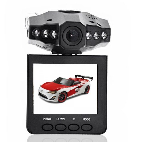 Suntech - Ir 6 TFT-LCD-Car-Dashboard Camera DVR Video Recorder Cctv HD Night