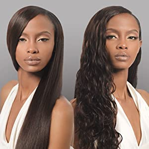 "VELVET Virgin Indian Remy Hair Wvg 14"" - Dark Brown - Outre"