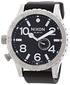 Nixon A058-1000 The 51-30 PU Strap All Black Watch