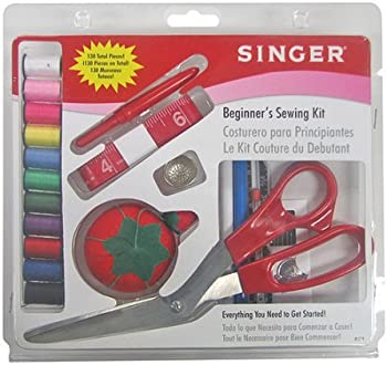 Singer 1512 Beginners Basic 130 Pcs Sewing Kit