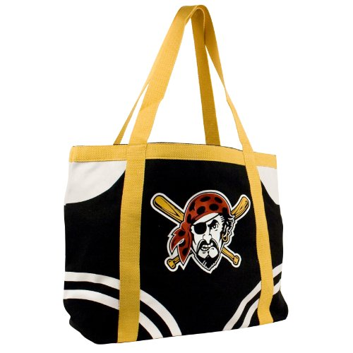 MLB Pittsburgh Pirates Canvas Tailgate Tote