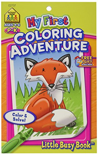 My First Little Busy Book-Coloring Adventure Grades P-K (Drawing My Little P compare prices)