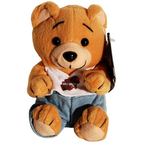 Harley Davidson Motorcycle Evo Girl Teddy Bear