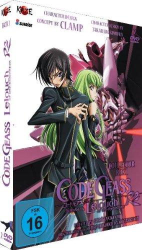 Code Geass: Lelouch of the Rebellion - Staffel 2 - Box 1 (2 DVDs) [Alemania]