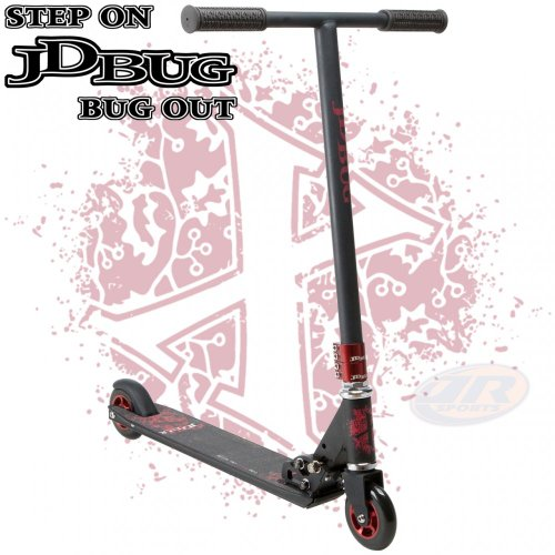 JD Bug Pro Series Extreme VR2.0 Black Scooter