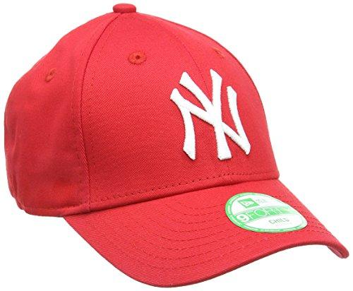 New Era 877282 K 940 MLB Bas Yan Berretto, Bambino, Rosso/Bianco, Taglia Unica