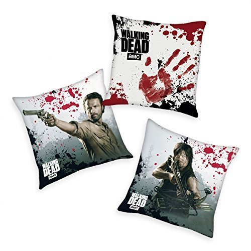 The walking Dead - Cuscino decorativo, set da 3