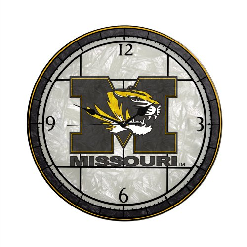 Missouri Art Glass Clock