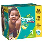 Pampers Baby Dry Diapers Economy Plus...