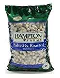 Hampton Farms Salted & Roasted In-shell Peanuts * Large Bag * Net Wt. 80 Oz (5 Lbs.)