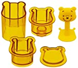 Skater Winnie-the-Pooh Shape Sushi Rice Press Molds (LDO1)