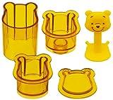 Skater Winnie-the-Pooh Shape Sushi Rice Press Molds (LDO1)