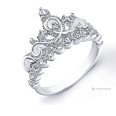 Princess Crown Promise Ring