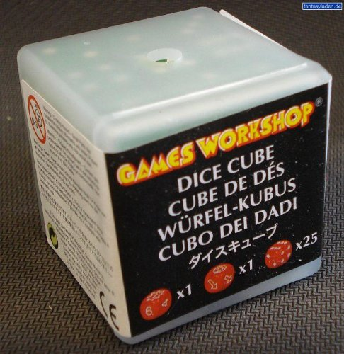Colored Dice Cube Citadel Games Workshop Warhammer 40k