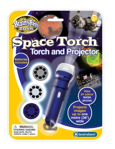 Brainstorm Educational Aid Space Torch & Projector Science Fun Room Toy