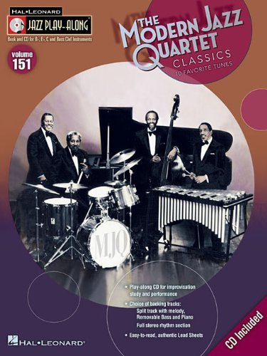 By Modern Jazz Quartet Modern Jazz Quartet Classics - Jazz Play-Along Volume 151 (Cd/Pkg) (Pap/Com) [Paperback]