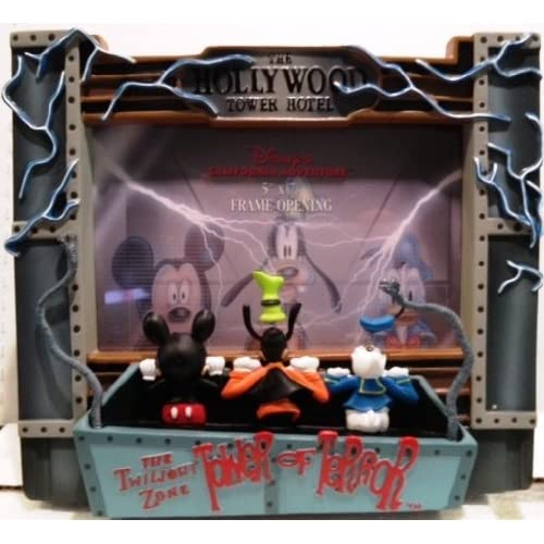 Amazon.com : Disney Tower of Terror Mickey Resin 5x7 Photo ...
