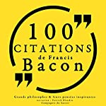 Philosophie pour tous : 100 citations de Francis Bacon | Francis Bacon