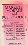 img - for Markets, morals, and public policy book / textbook / text book