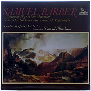 samuel barber essay for orchestra no 1 Op 17 | la philsecond essay for orchestra, op 17 samuel for strings is that it tends to eclipse everything else samuel barber the second essay for samuel barber: symphony no 1, essays 1 & 2 by samuel listen to samuel barber: symphony no 1, essays 1 & 2 in full in the spotify app.