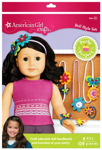 American girl crafts doll accessory party activity kit for American girl craft kit