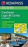 echange, troc Cartes Kompass - Carte touristique : Lago di Garda, Monte Baldo