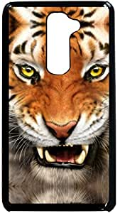 Dot Print Back Cover For LG G2 Angry Tiger Printed Case