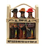 Wooden Crate Whoop Ass Hot Sauce Gift Set