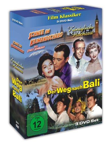 Schnee am Kilimandscharo - Königliche Hochzeit - Der Weg nach Bali - 3 DVD Box