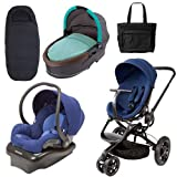 Quinny Moodd Stroller Complete Collection in Blue