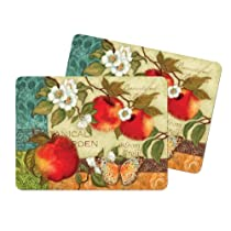 Kay Dee Designs Botanical Apples Cork-Backed Placemat, Set of 2