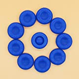 10PCS Blue PTU Silicone Rubber Gel Analogue Thumb Grip Stick Caps Corvers for PS4/PS3/XBOX 360/XBOX ONE/Wii Controllers