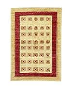 Eden Carpets Alfombra Modcar Rojo/Beige 176 x 122 cm