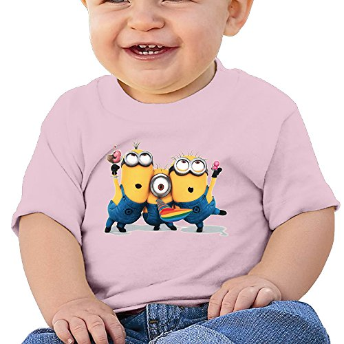 Despicable-Me-Minions-Banana-Cotton-Baby-Unisex-T-Shirts