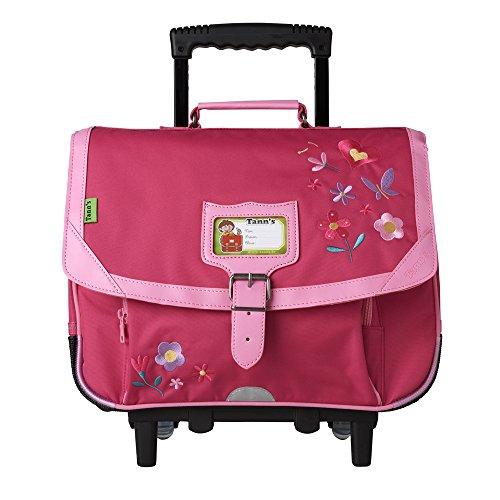 Tann's Zaino Scuola, rosa (Rosa) - T5FLO-TCA38-RS