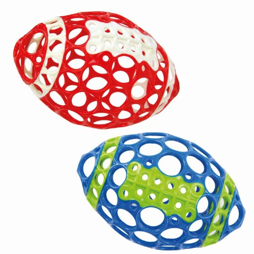 O Ball Toys, Football (Colors may vary)