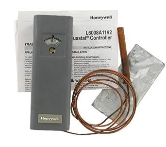 honeywell l6008a1192 aquastat circulator control low limit. Black Bedroom Furniture Sets. Home Design Ideas