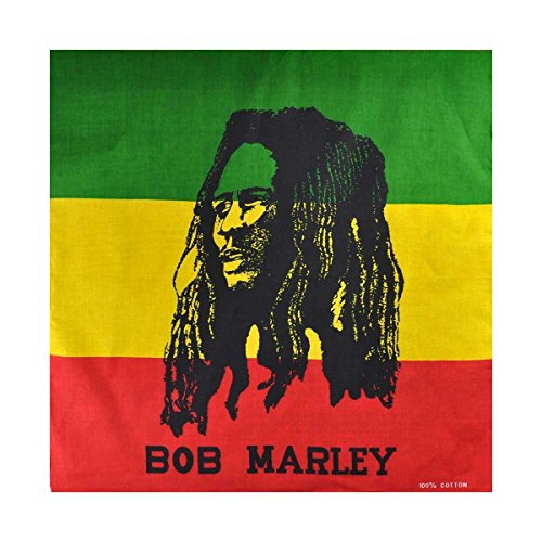 Bandiera Bandane St.George Irlandese,Giamaicano Union Jack USA Bandana, Ghana, Bandiera Del Brasile - cotone, RAS - Bob Marley, 100% cotone, Unisex, taglia unica, One size