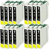 16 Black Compatible Ink Cartridges for Epson Stylus SX515W