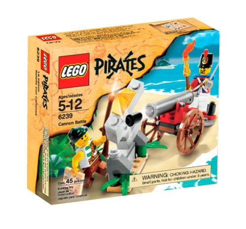 LEGO Pirates Cannon Battle (6239) Amazon.com
