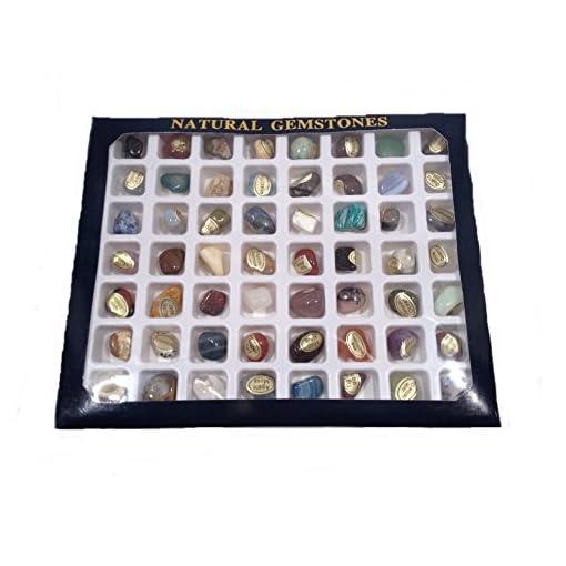 Steinset-Natural-Gemstones-Set-mit-56-verschiedenen-Edelsteinen